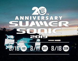 SUMMER SONIC 2019 <3DAYチケット (割引価格)>